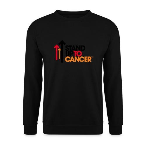 stand up to cancer logo - Men's Sweatshirt