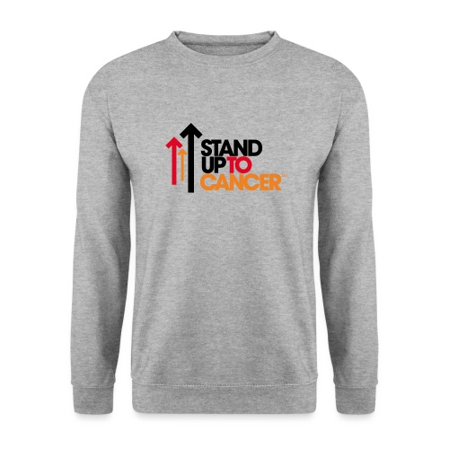 stand up to cancer logo - Men's Sweatshirt