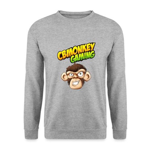CBMonkey Logo fw png - Men's Sweatshirt