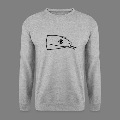 Snake logo black - Unisex sweater