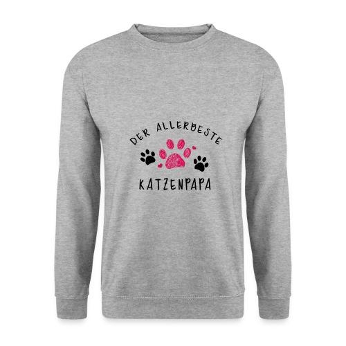 Der allerbeste Katzenpapa - Männer Pullover