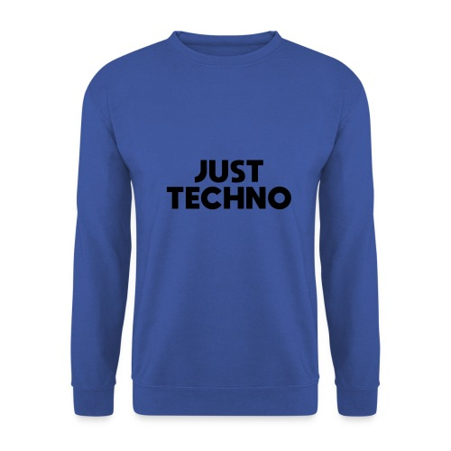 Just Techno - Männer Pullover