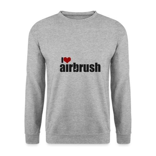 I Love airbrush - Männer Pullover