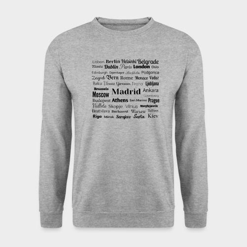 European capitals - Unisex Sweatshirt