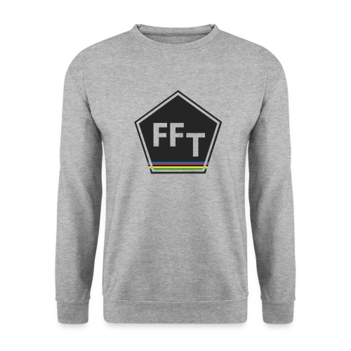 FFT logo colour (Fastfitnesstips) - Men's Sweatshirt