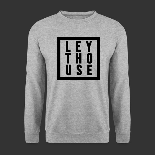 LEYTHOUSE Square black - Men's Sweatshirt