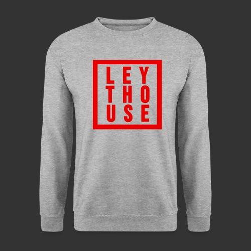 LEYTHOUSE Square red - Men's Sweatshirt