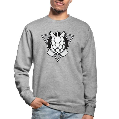 Mighty Hops Logo Black and white - Unisextröja