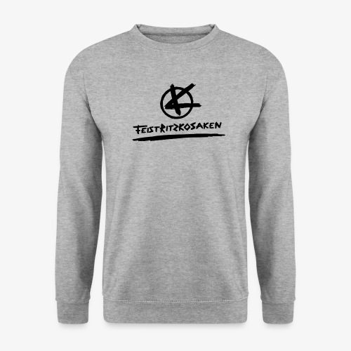 Feistritzkosaken Logo dunkel - Männer Pullover