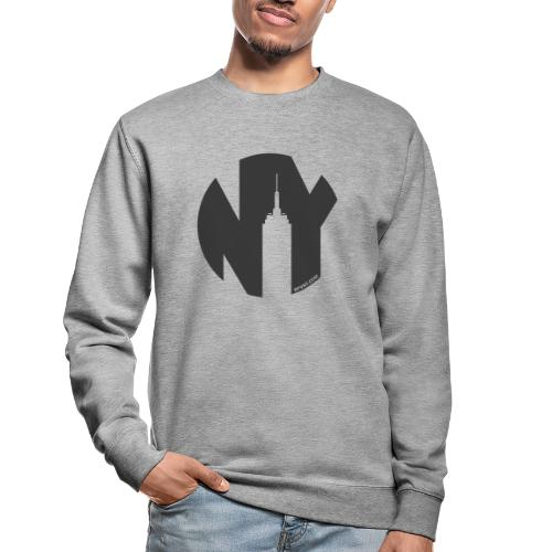 Logo French Yorker noir - Sweat-shirt Unisexe