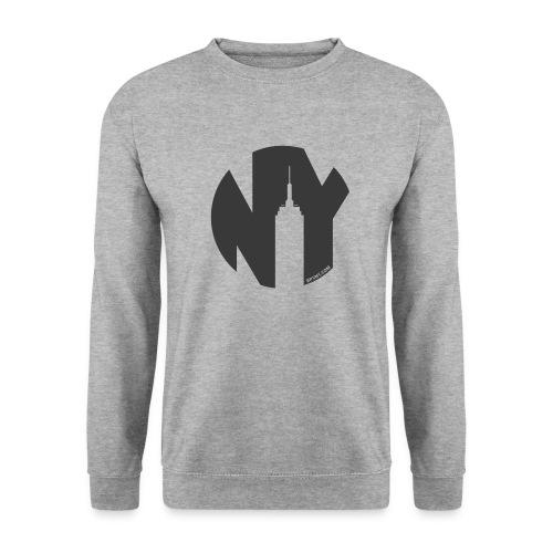 Logo French Yorker noir - Sweat-shirt Homme