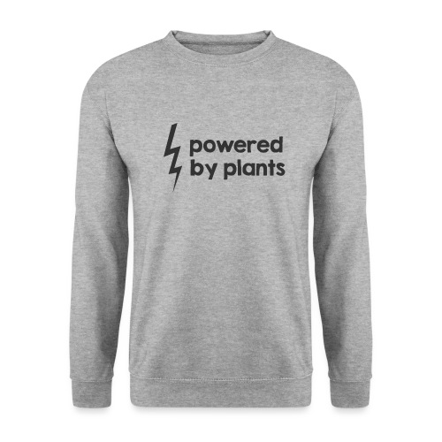 Powered by plants - Unisex Pullover