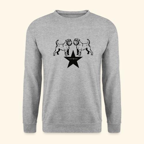 Brussels Griffon Logo - Sweat-shirt Homme