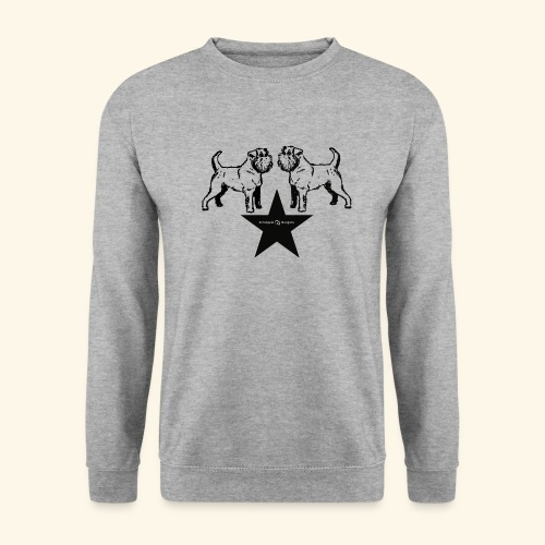 Brussels Griffon Logo - Sweat-shirt Unisex