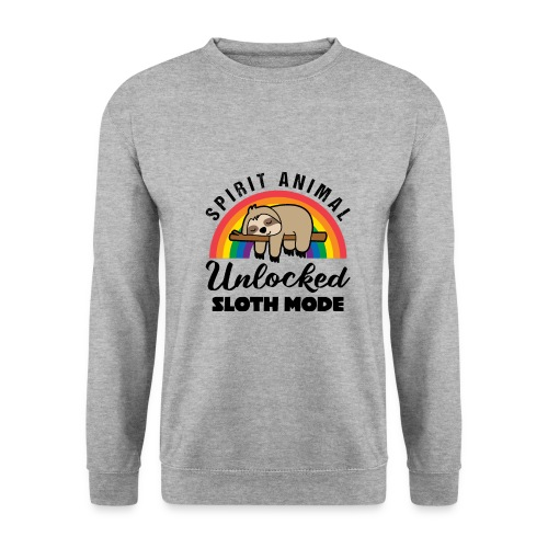 Funny Sloth Quotes - Unisex Pullover