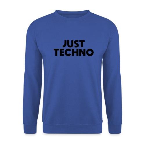 Just Techno - Männer Pullover