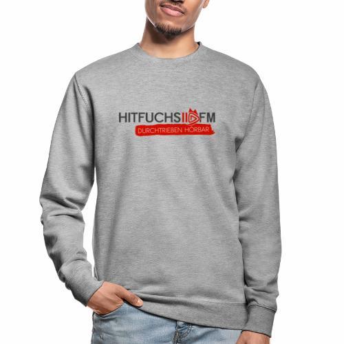 HitFuchs logo + slogan - Unisex Sweatshirt