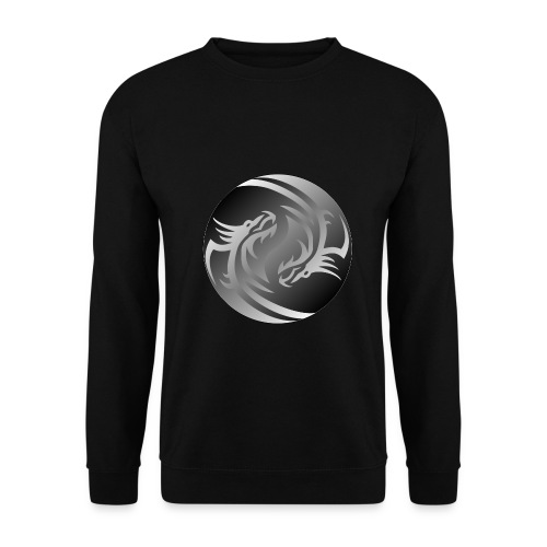 Yin Yang Dragon - Men's Sweatshirt