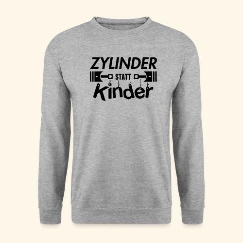 Zylinder Statt Kinder - Männer Pullover