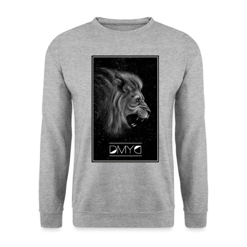 Lion Born to draw - Sweat-shirt Unisex