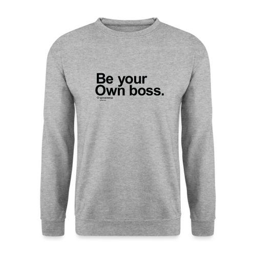 Boss in black - Unisex Sweatshirt