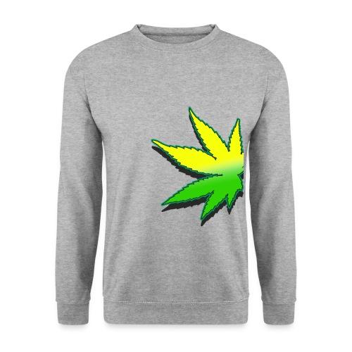 feuille de weed - Sweat-shirt Homme