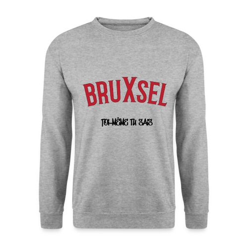 BRUXSEL - TMTC - Red - Sweat-shirt Homme