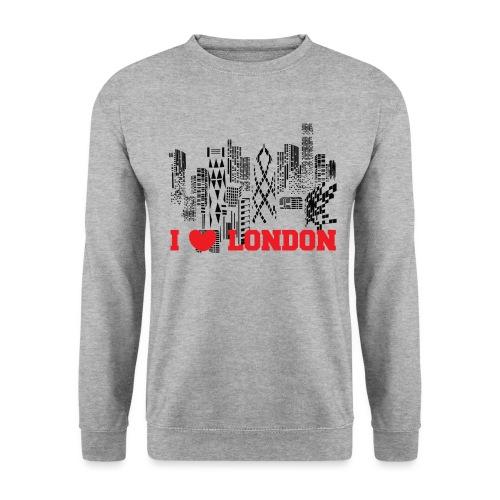 I LOVE LONDON SKYCRAPERS - Sudadera hombre