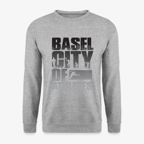 Basel City of Athletes B/W - Männer Pullover