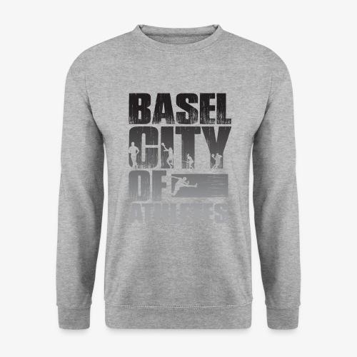 Basel City of Athletes B/W - Unisex Pullover