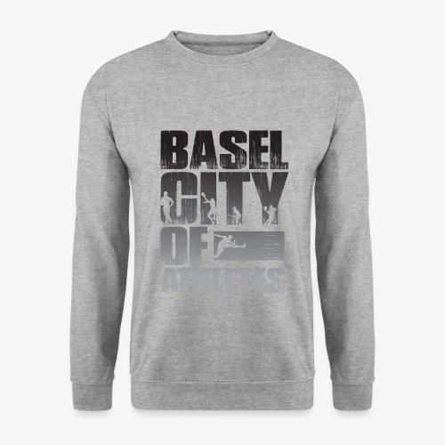 Basel City of Athletes B/W - Männer Pullover