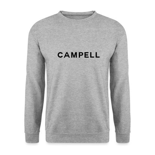 campell schriftzug2 - Männer Pullover