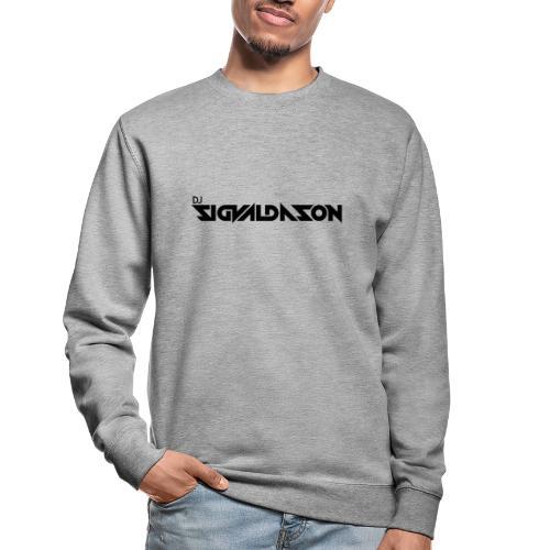 DJ logo sort - Unisex sweater