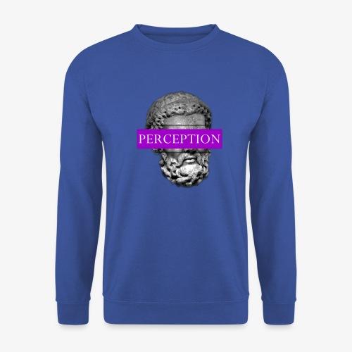 TETE GRECQ PURPLE - PERCEPTION CLOTHING - Sweat-shirt Unisex