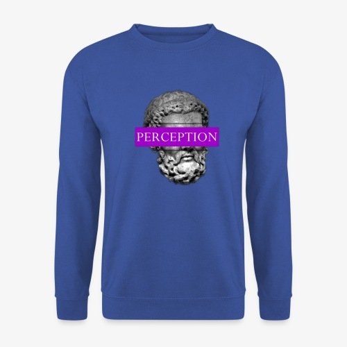 TETE GRECQ PURPLE - PERCEPTION CLOTHING - Sweat-shirt Unisexe