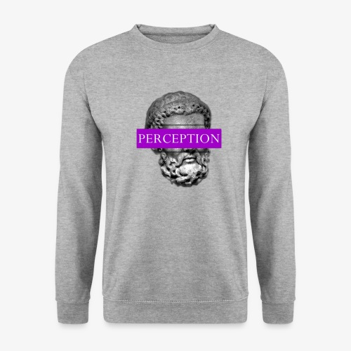 TETE GRECQ PURPLE - PERCEPTION CLOTHING - Sweat-shirt Unisex