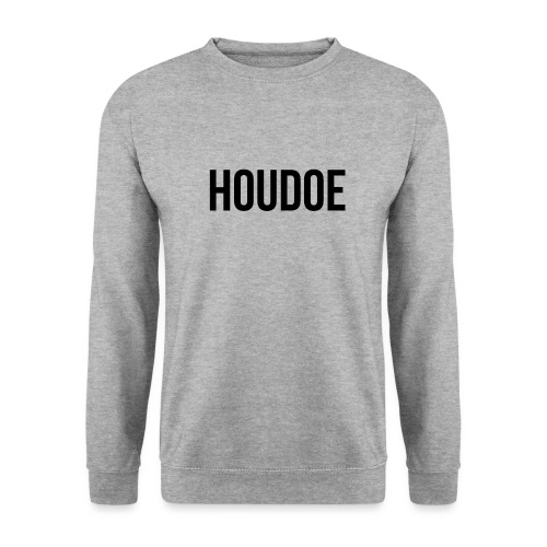 Houdoe zwart - Unisex sweater