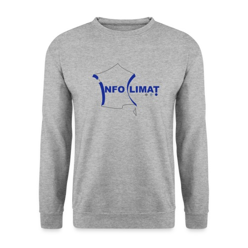 logo simplifié - Sweat-shirt Unisexe