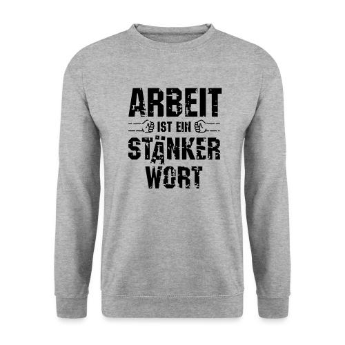 arbeit-staenkerwort - Männer Pullover
