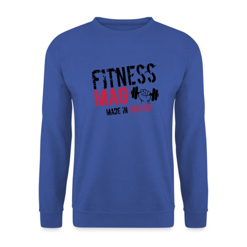 Fitness Mag made in corsica 100% Polyester - Sweat-shirt Homme