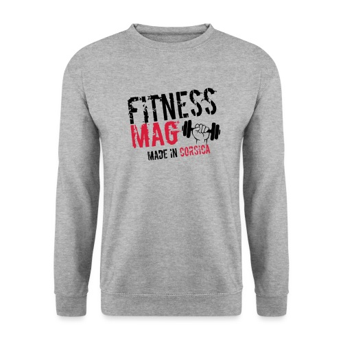 Fitness Mag made in corsica 100% Polyester - Sweat-shirt Unisex