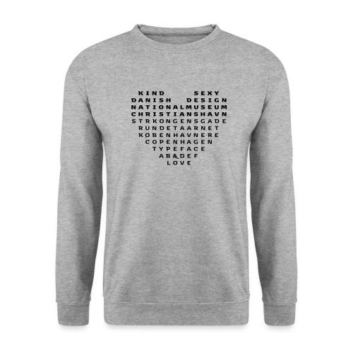 Copenhagen Heart - Herre sweater