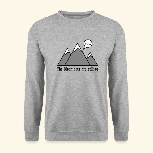 mountains calling - Unisex Pullover