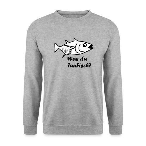 Was du tun Fisch? - Männer Pullover