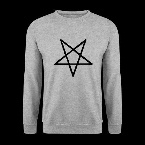 Pentagram2 png - Unisex Pullover