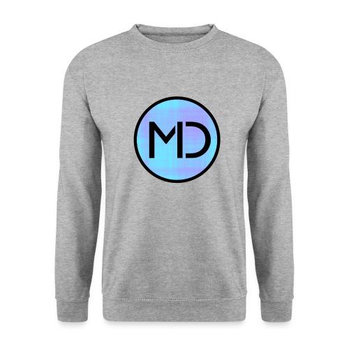 MD Blue Fibre Trans - Men's Sweatshirt