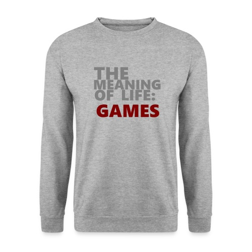 T-Shirt The Meaning of Life - Mannen sweater