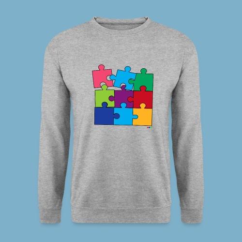 Puzzle Fun Motive - Männer Pullover