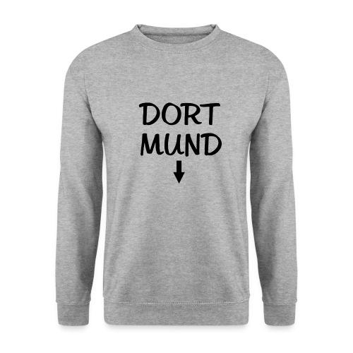 Dortmund Witzig Weiß - Männer Pullover