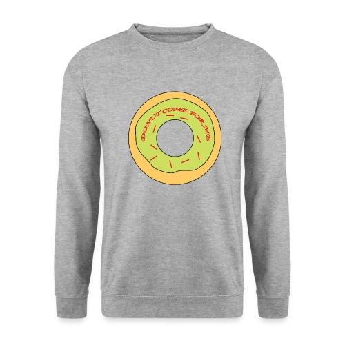 Donut Come For Me Red - Men's Sweatshirt